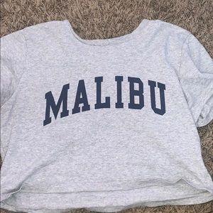 ***RARE*** Brandy melville malibu cropped tshirt!